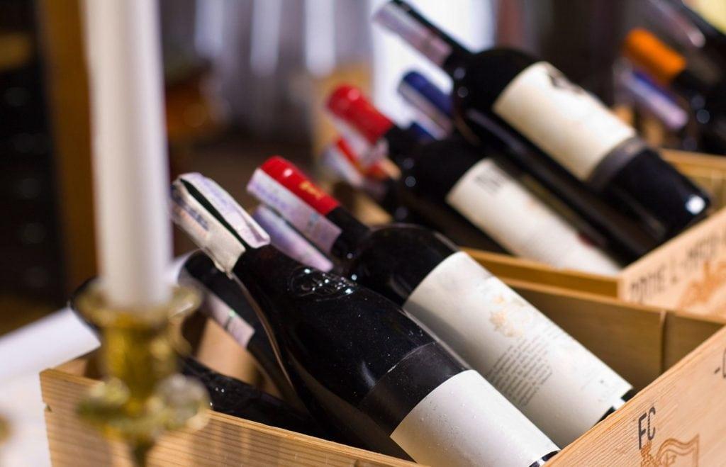 Importing wine
